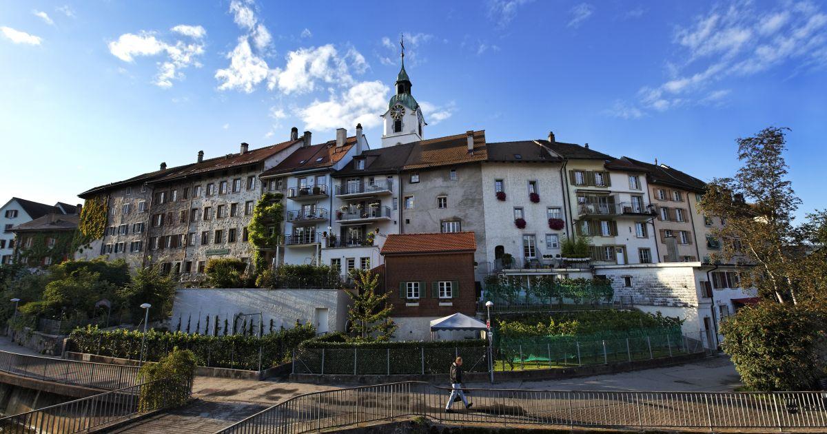 Die malerische Altstadt von Olten