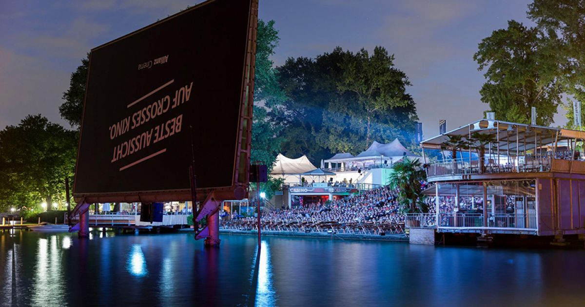 Die besten Open Air Kinos der Schweiz: Allianz Cinema in Zürich