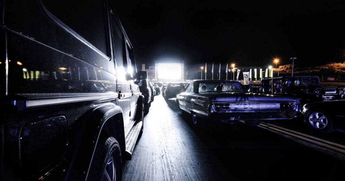 Die besten Open Air Kinos der Schweiz: Autokino TCS in Hinwil