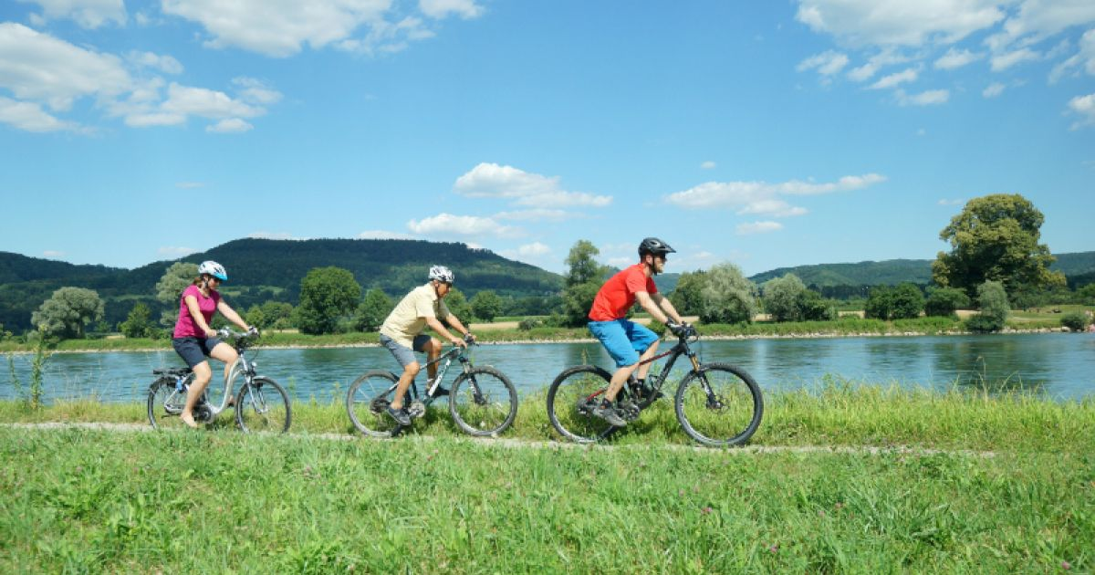Velofahren in Bad Zurzach