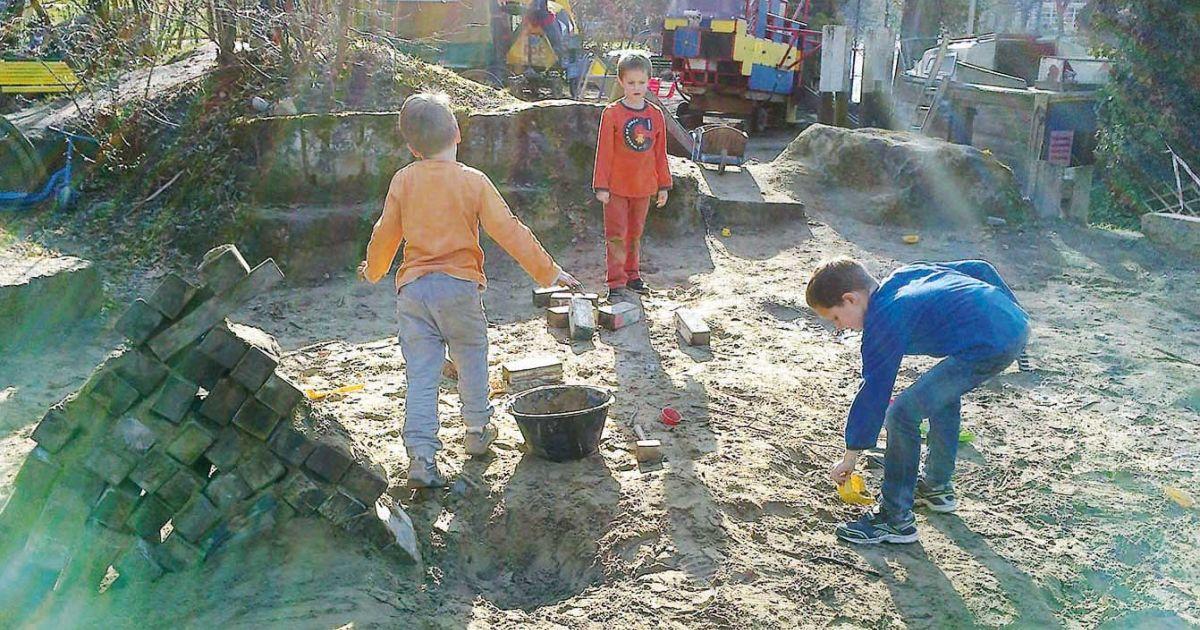 Längmuur Spielplatz in Bern