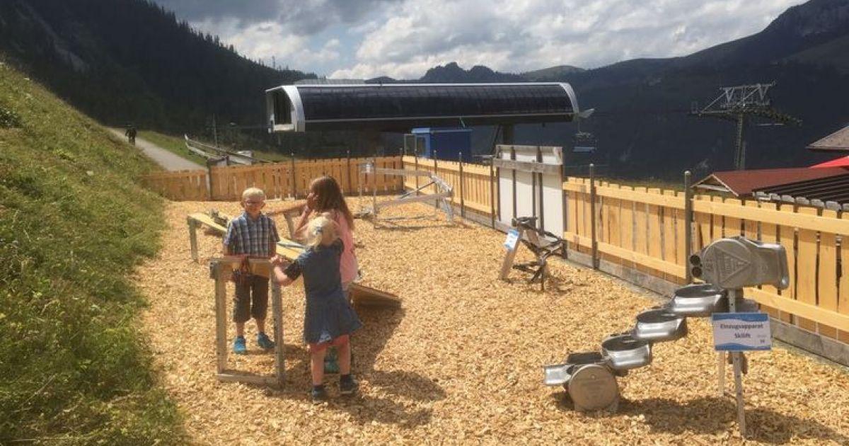 Märmelispielplatz bei den Wierihornbahnen