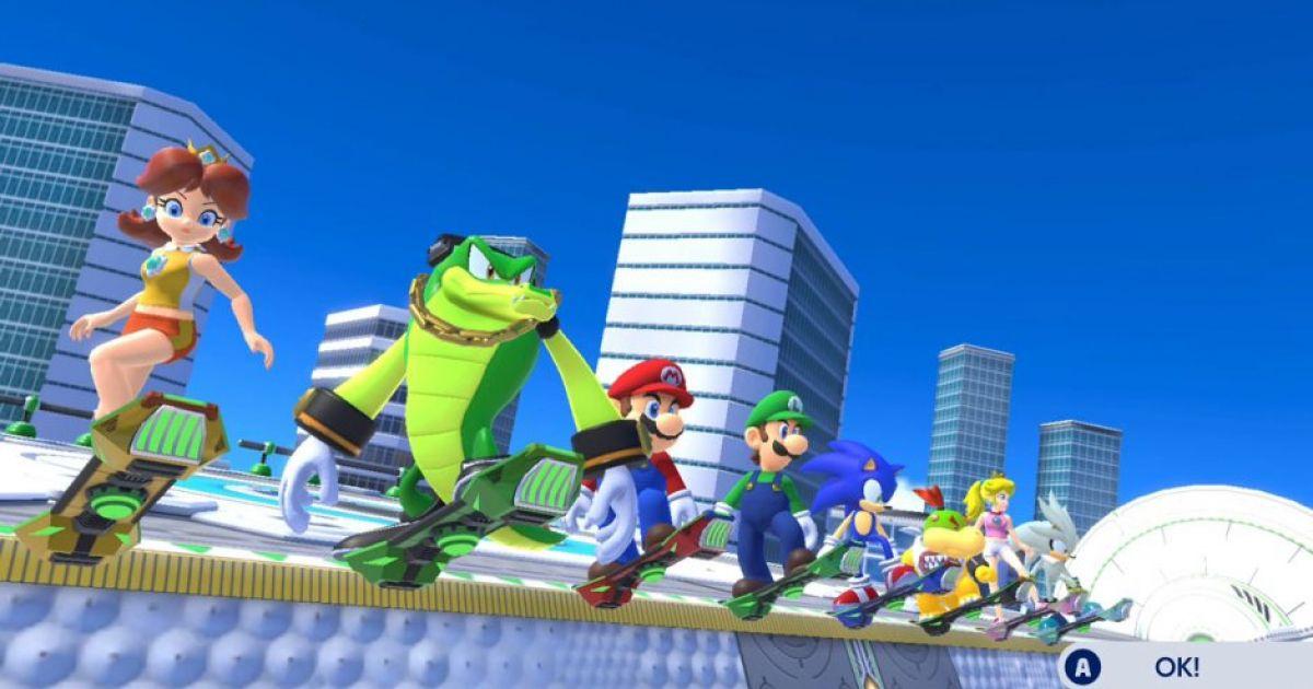 Mario und Sonic an den Olympischen Spielen