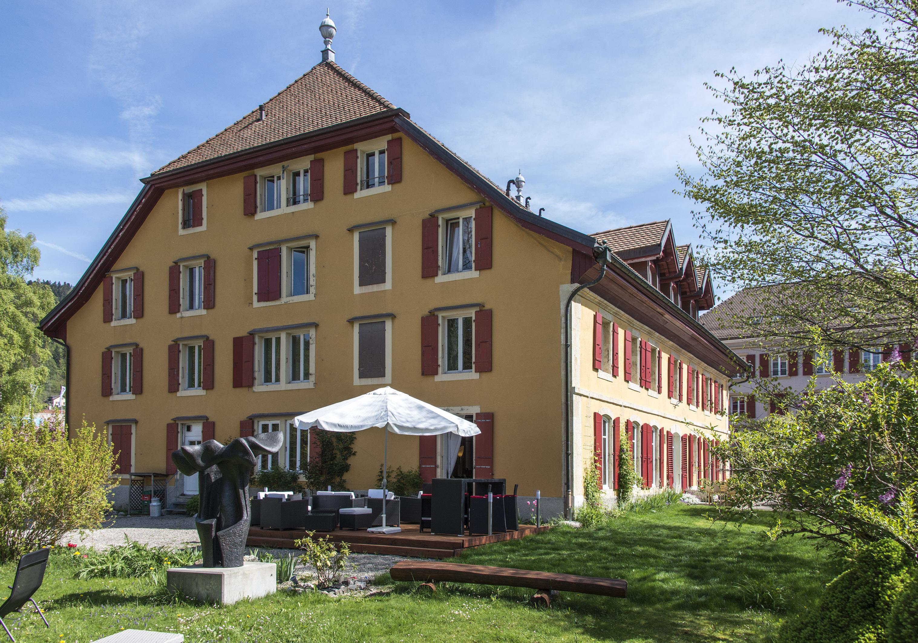 Das Hôtel de l'Aigle in Couvet