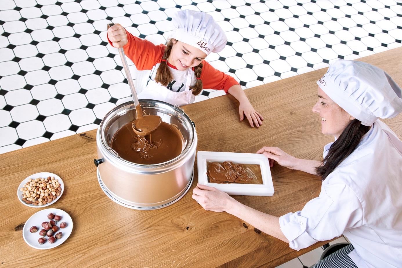Ein süsser Geburtstag bei Maestrani's Chocolarium in Flawil