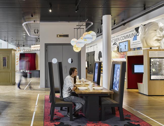 Im Berner Museum für Kommunikation erleben Besucher Kommunikation interaktiv