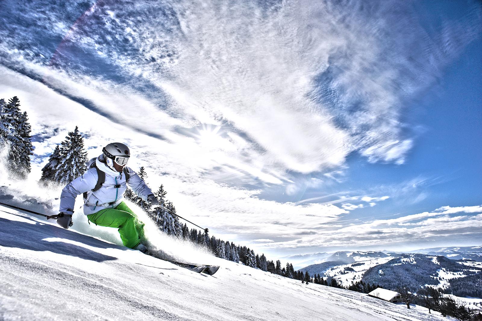 Winterspass im Skigebiet Bugnenets-Savagnières