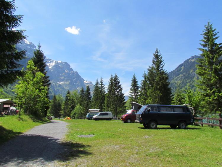 Camping Güntlenau direkt am See