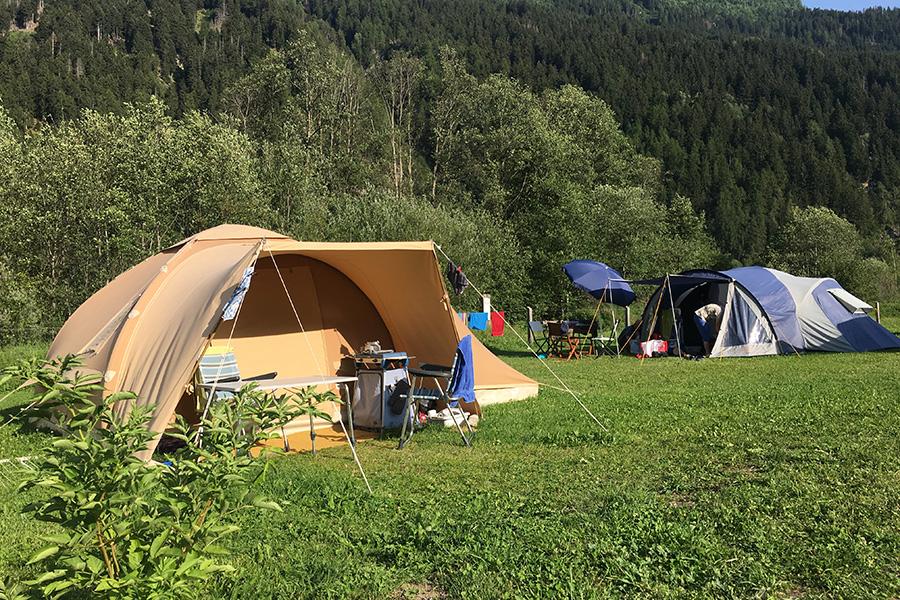 Der familiäre Campingplatz Muglin Val Müstair im Engadin