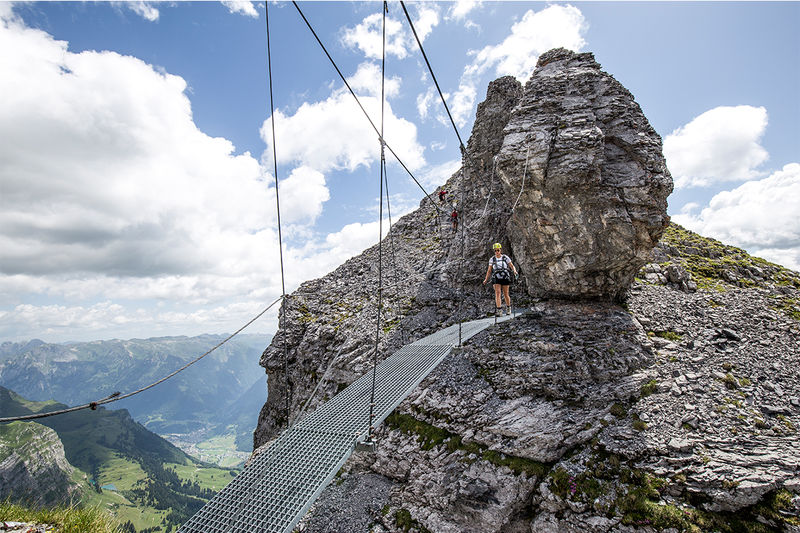 Klettersteig Braunsteig