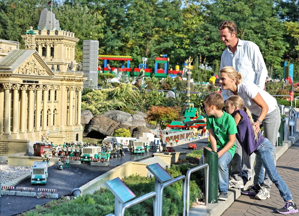 Das Legoland in Deutschland ist ein Paradies für Legoliebhaber aller Altersklassen