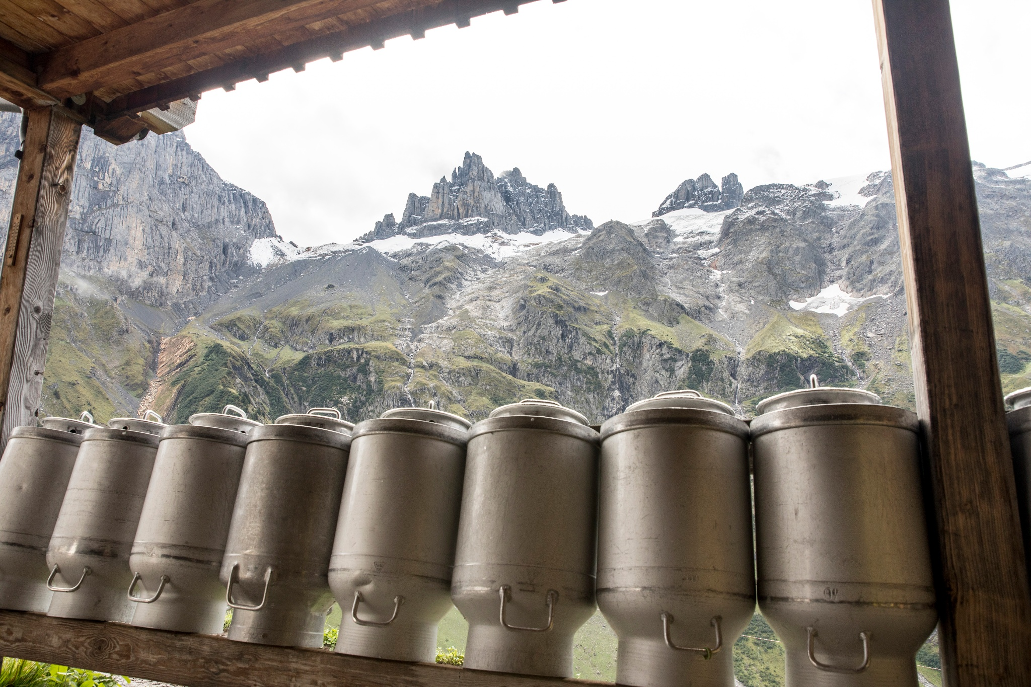 Unterwegs auf dem Alpkäse Trail Engelberg