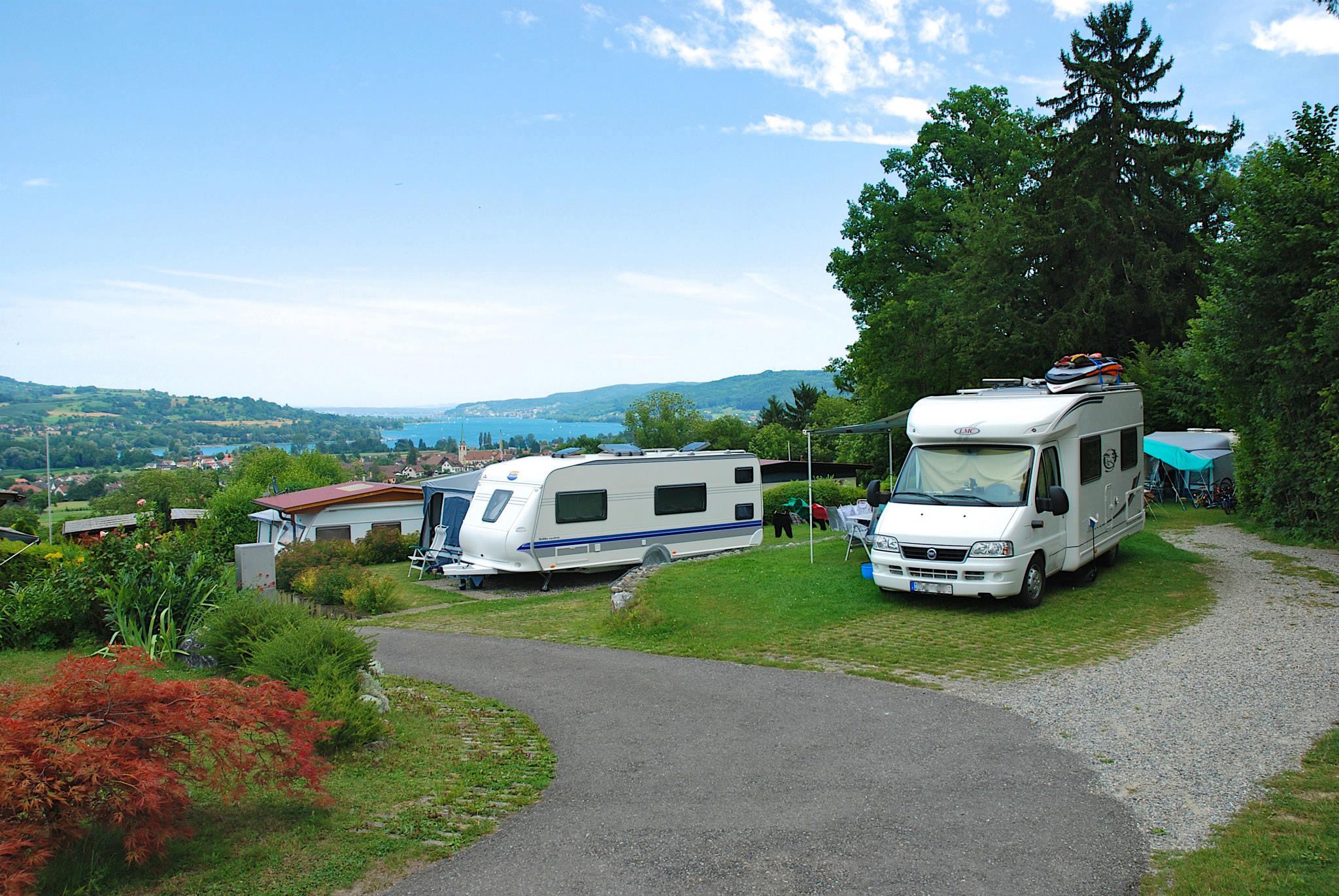 Erholung im Thurgau auf dem Campingplatz Hüttenberg