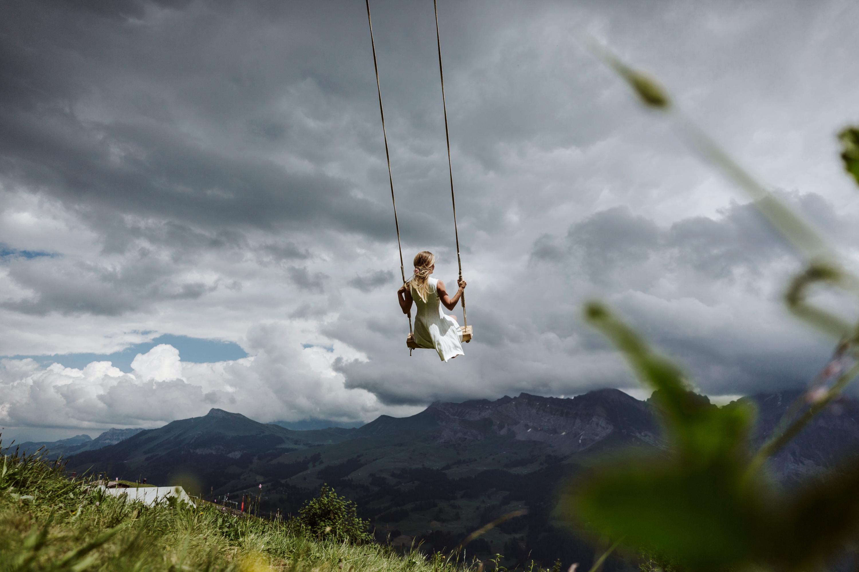 Giant Swing Tschentenalp