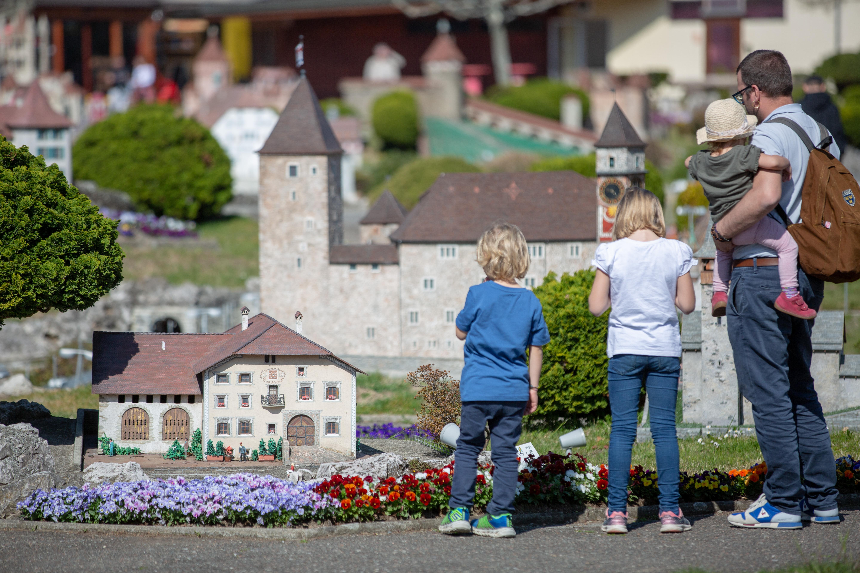 Die Schweiz im Miniaturformat in der Swissminiature Melide