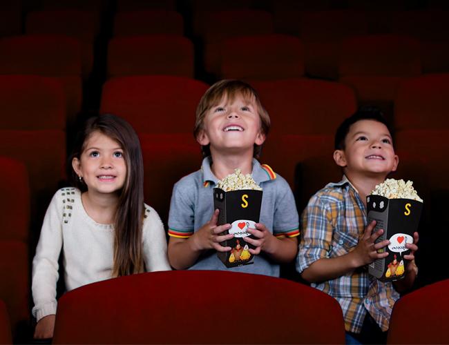 Kindergeburtstag in den Pathé-Kinos der Deutschschweiz