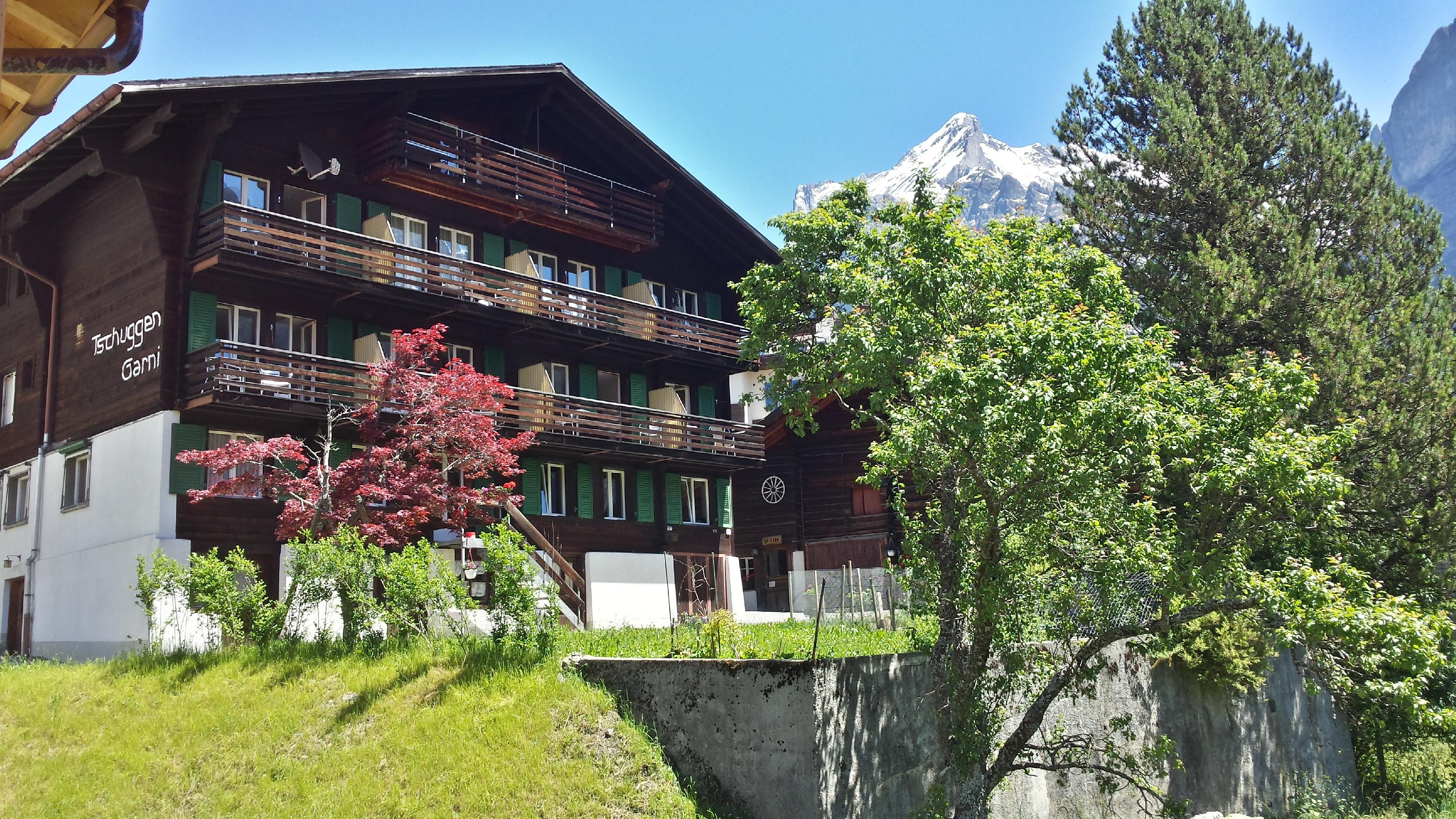 Das Hotel Tschuggen in Grindelwald