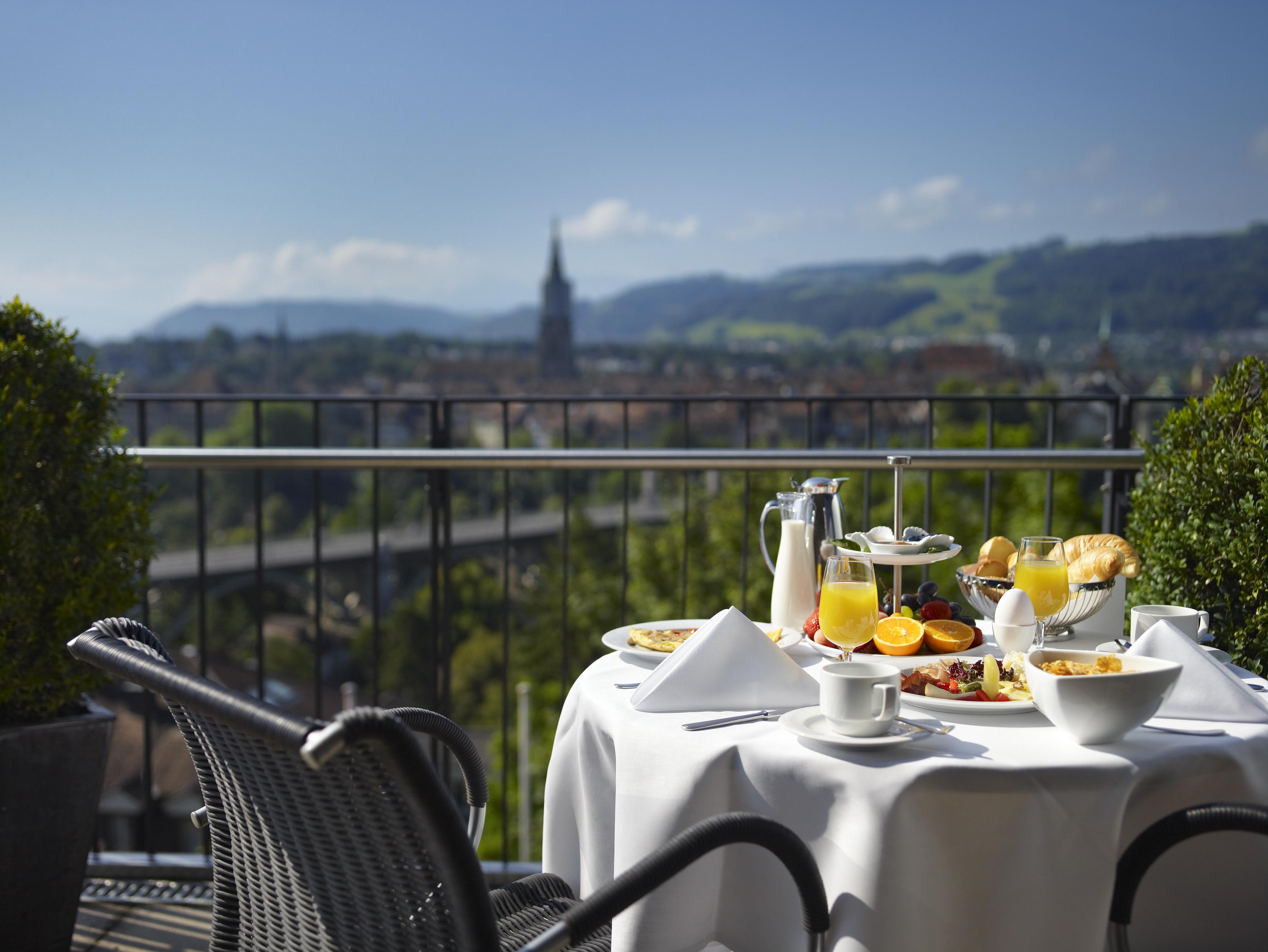 Hotel Allegro Bern – Blick aus der Juniorsuite
