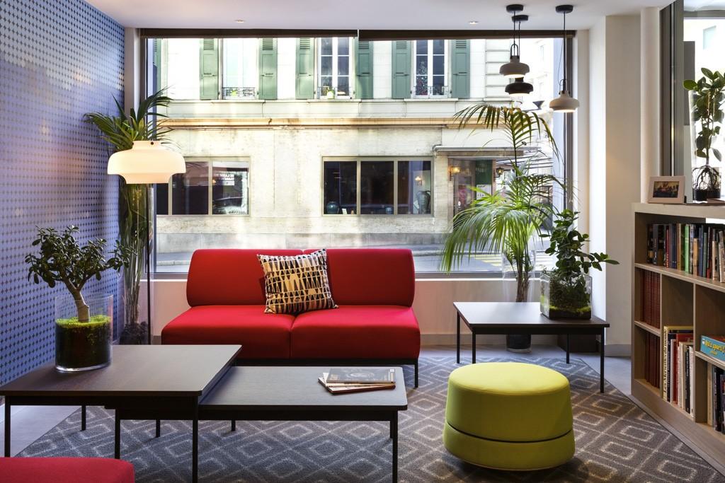 Das Hotel Ibis Lausanne Centre