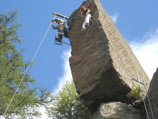 Mini-Klettersteig Saas-Fee