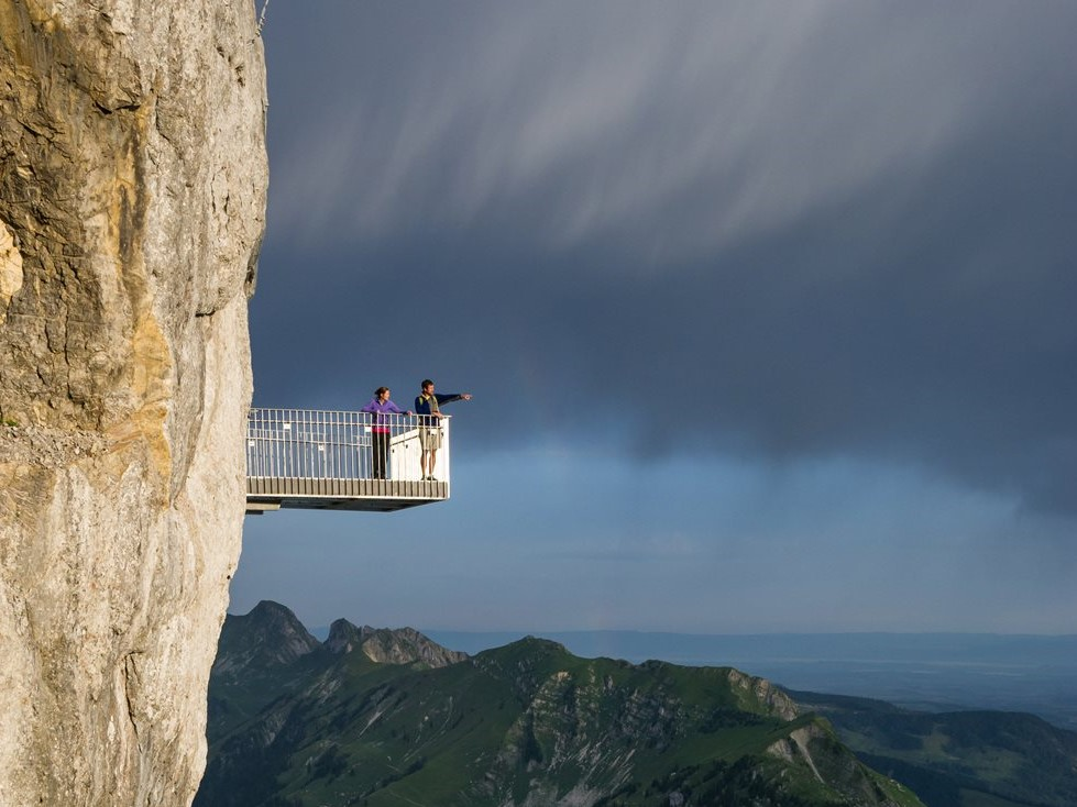 Stockhorn Aussichtsplattform