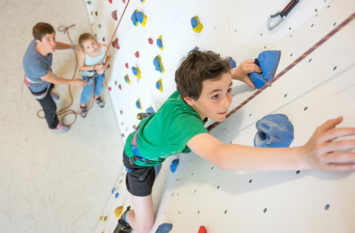 Kletter- und Boulderhallen in der Schweiz