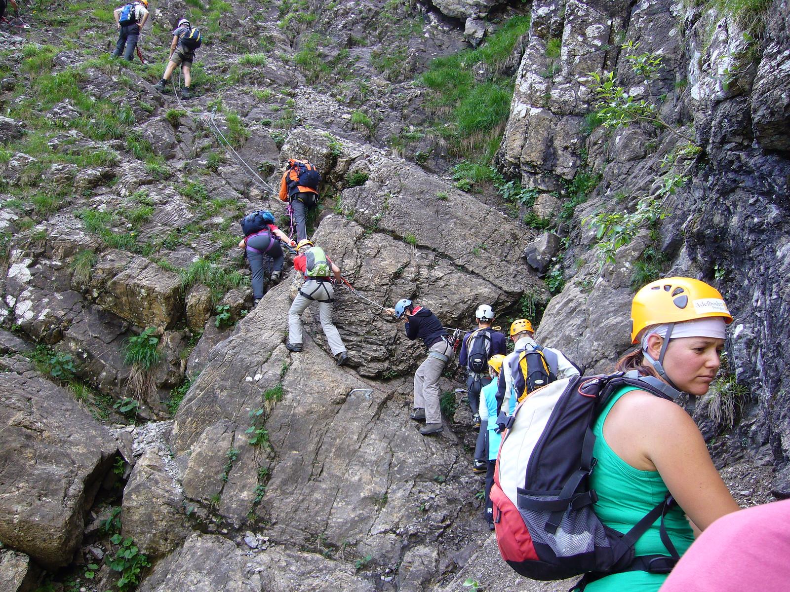 Klettersteig Chäligang Engstligenalp