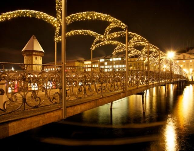 Weihnachtsbeleuchtung Luzern