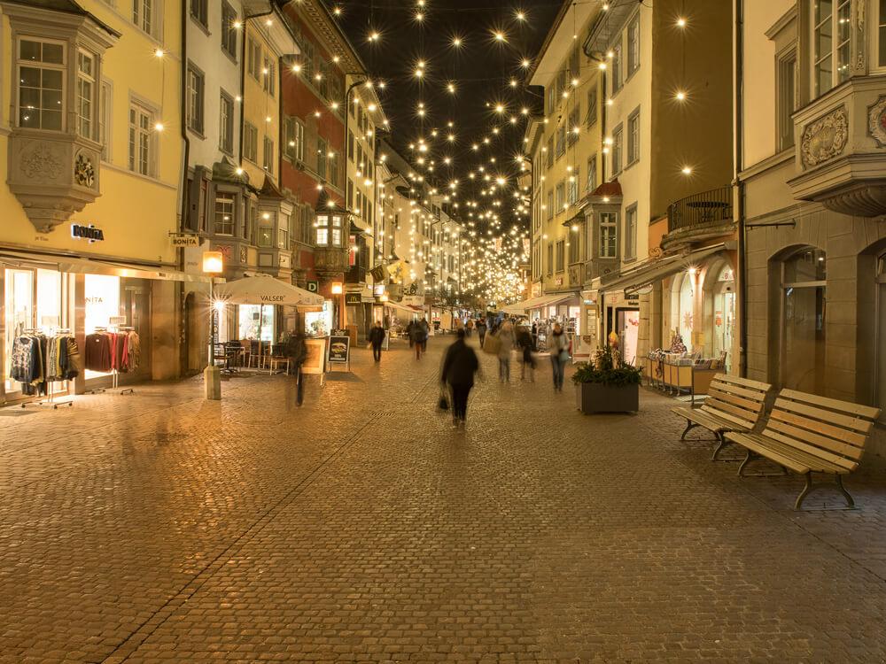 WEihnachtsbeleuchtung Schaffhausen