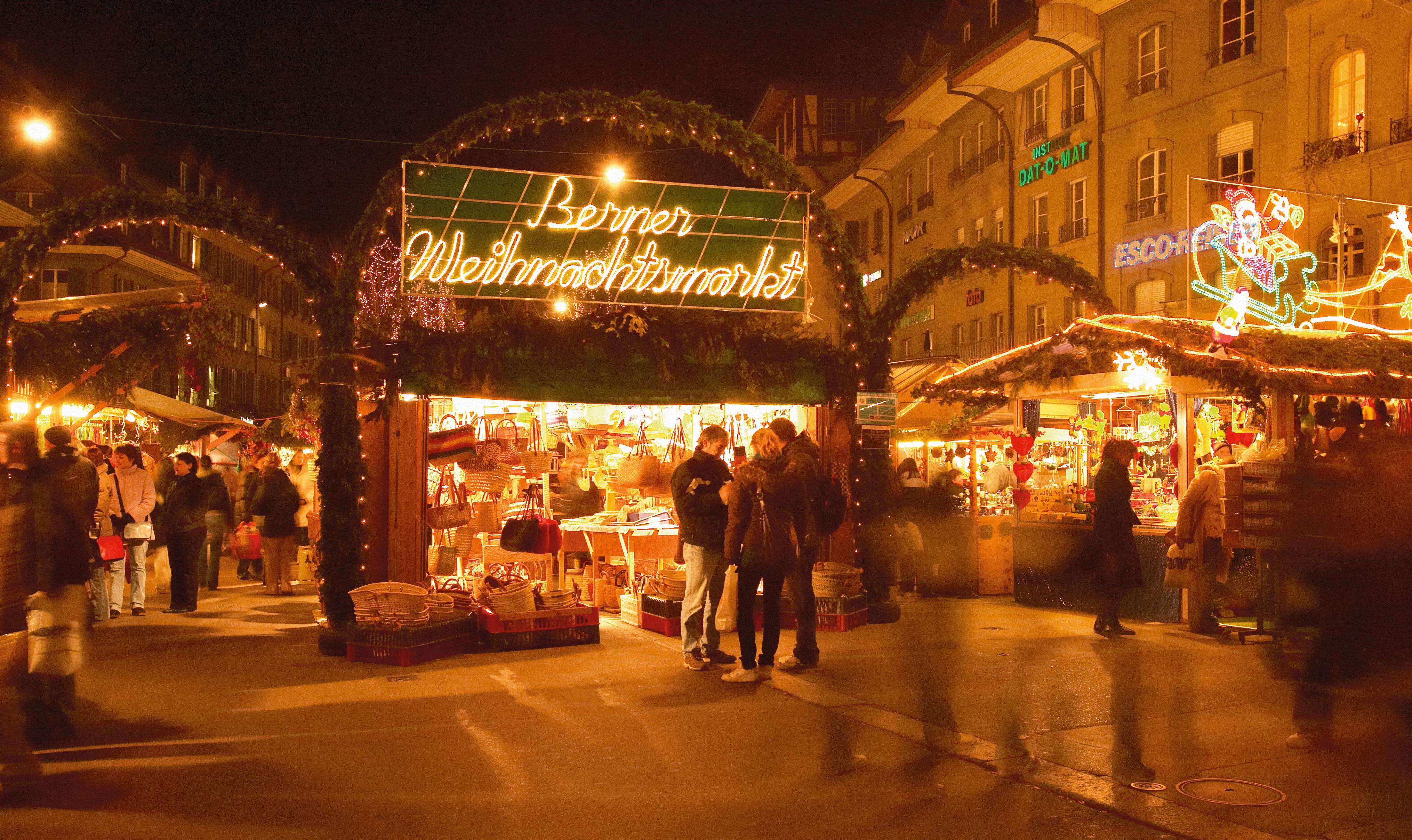 Weihnachtmarkt Bern