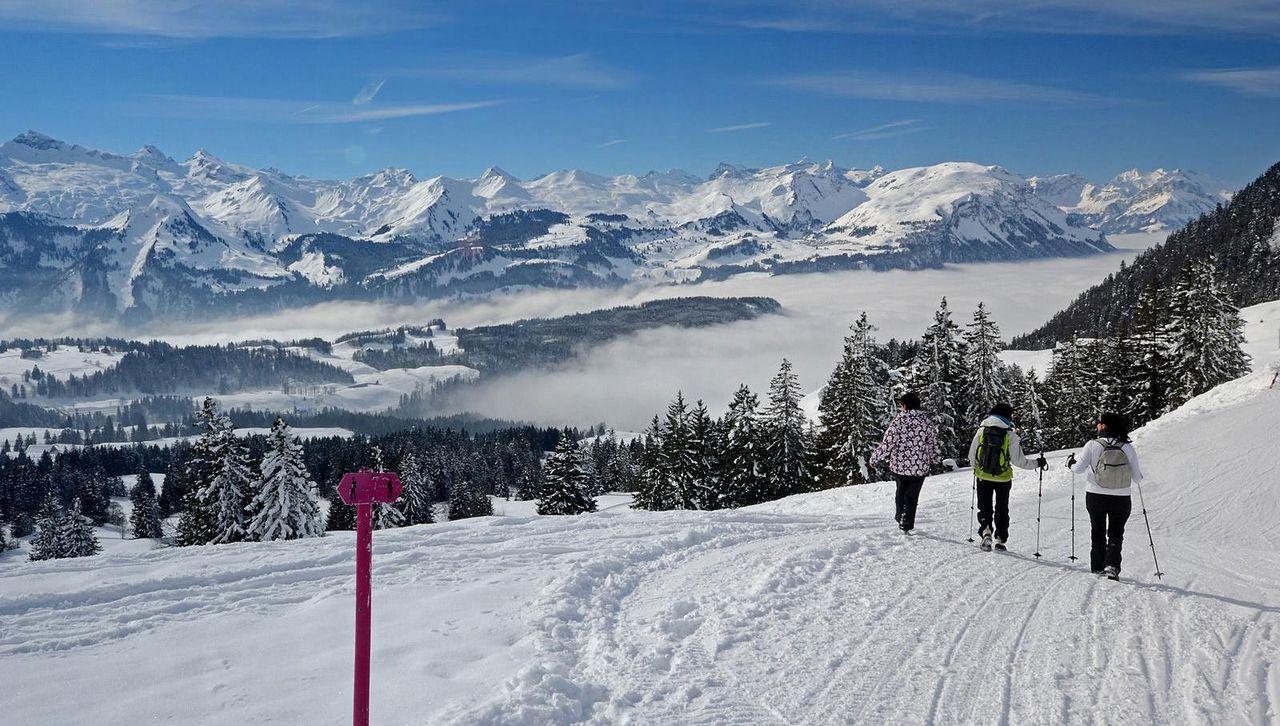 Winterwandern Mythenregion
