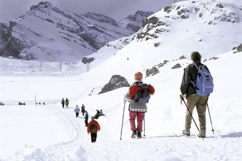 Winterwanderung Gemmipass