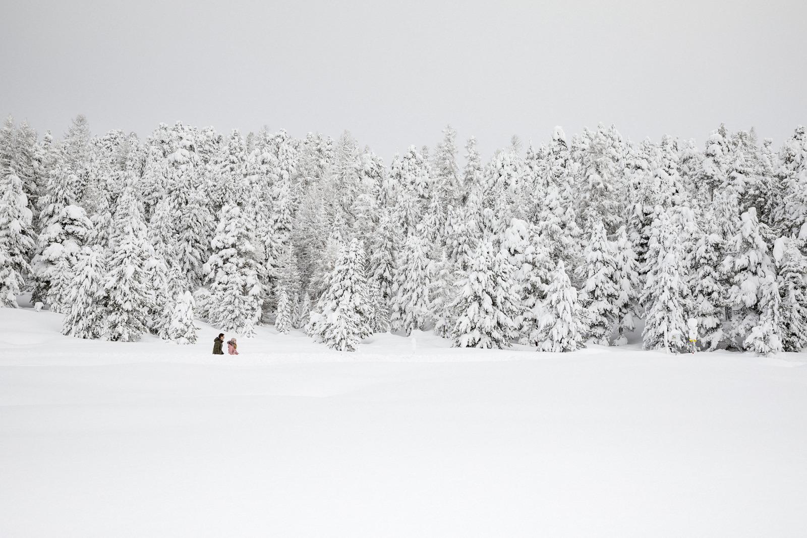 Winterwandern im Engadin