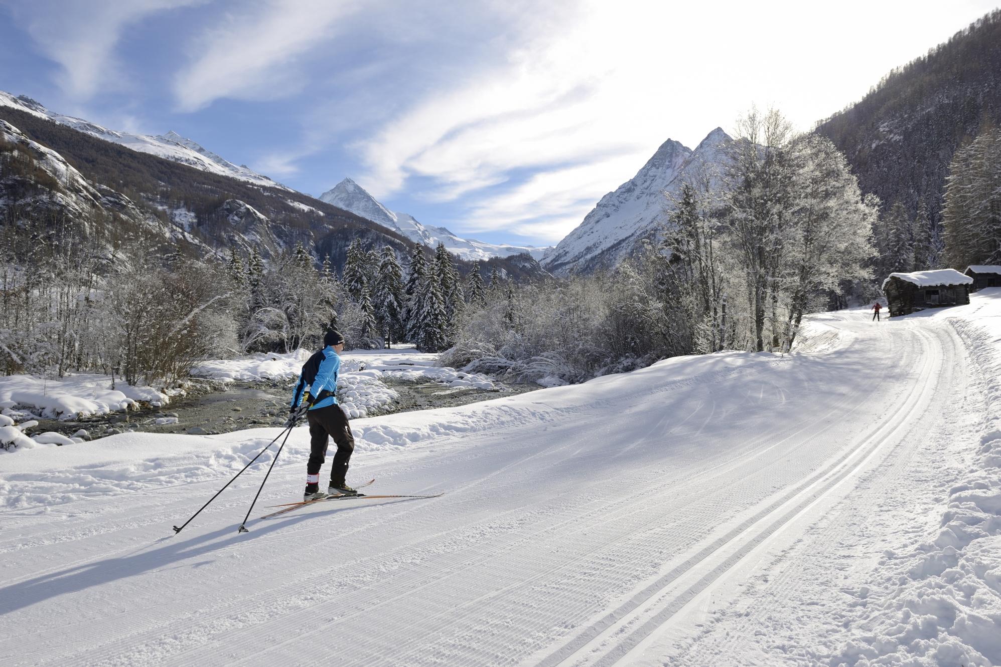 Langlauf Val d'Hérens
