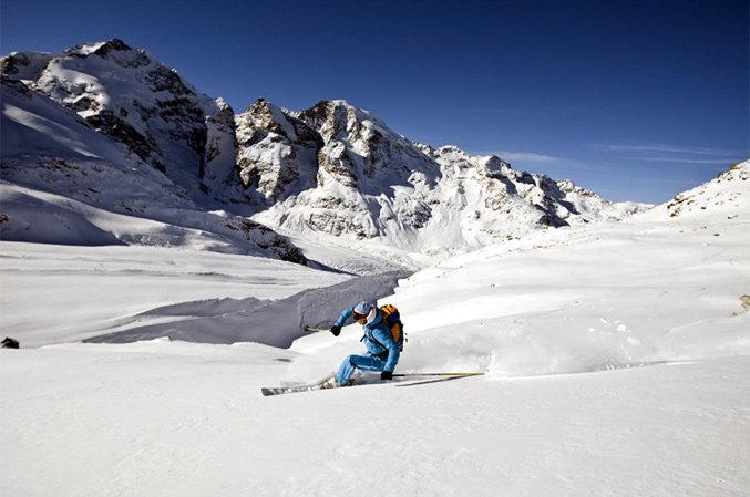 Diavolezza Gletscherabfahrt