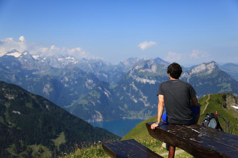 Gratwanderweg im Kanton Schwyz