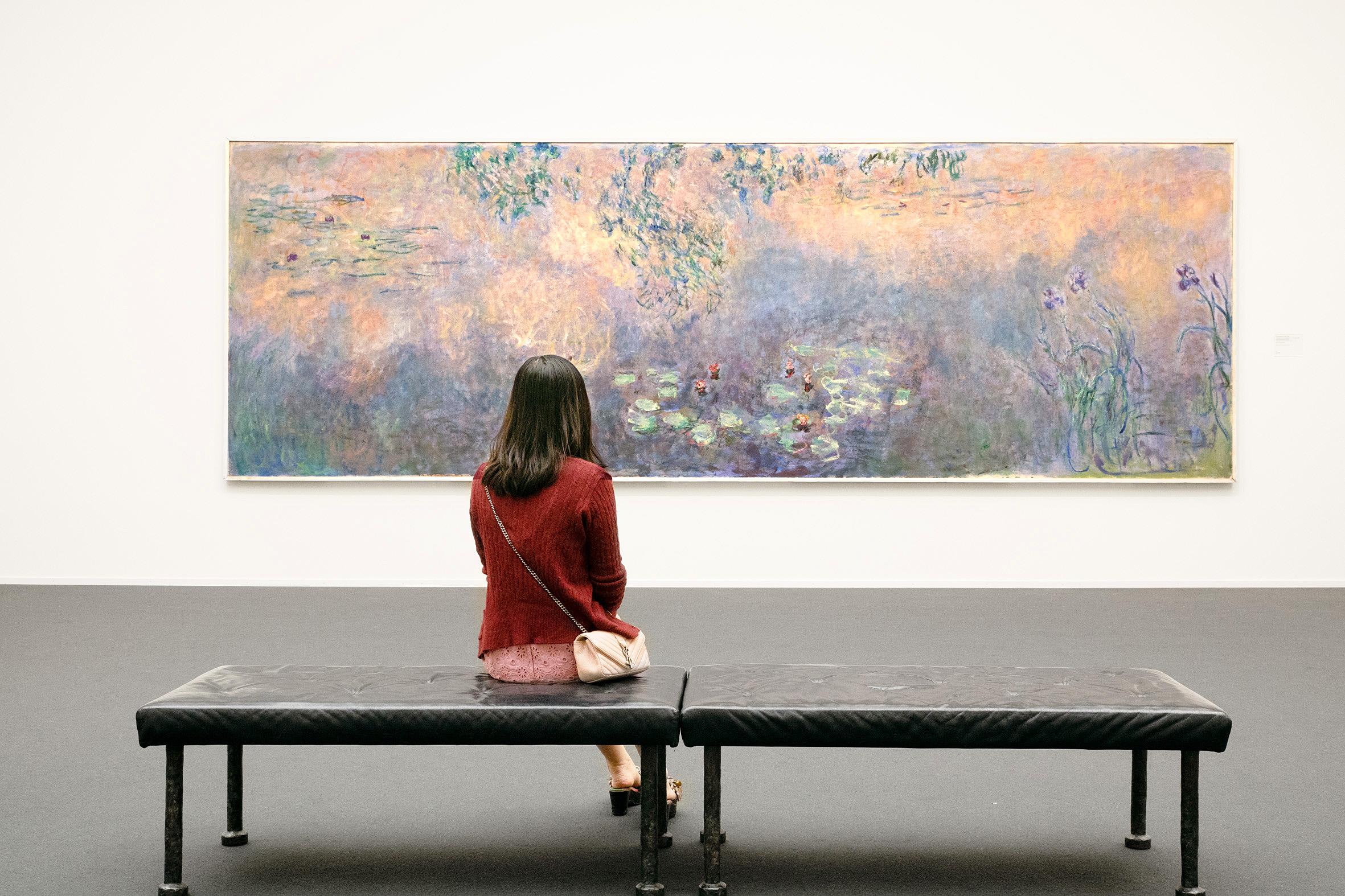 Ein Bild des Impressionisten Monet im Kunsthaus Zürich
