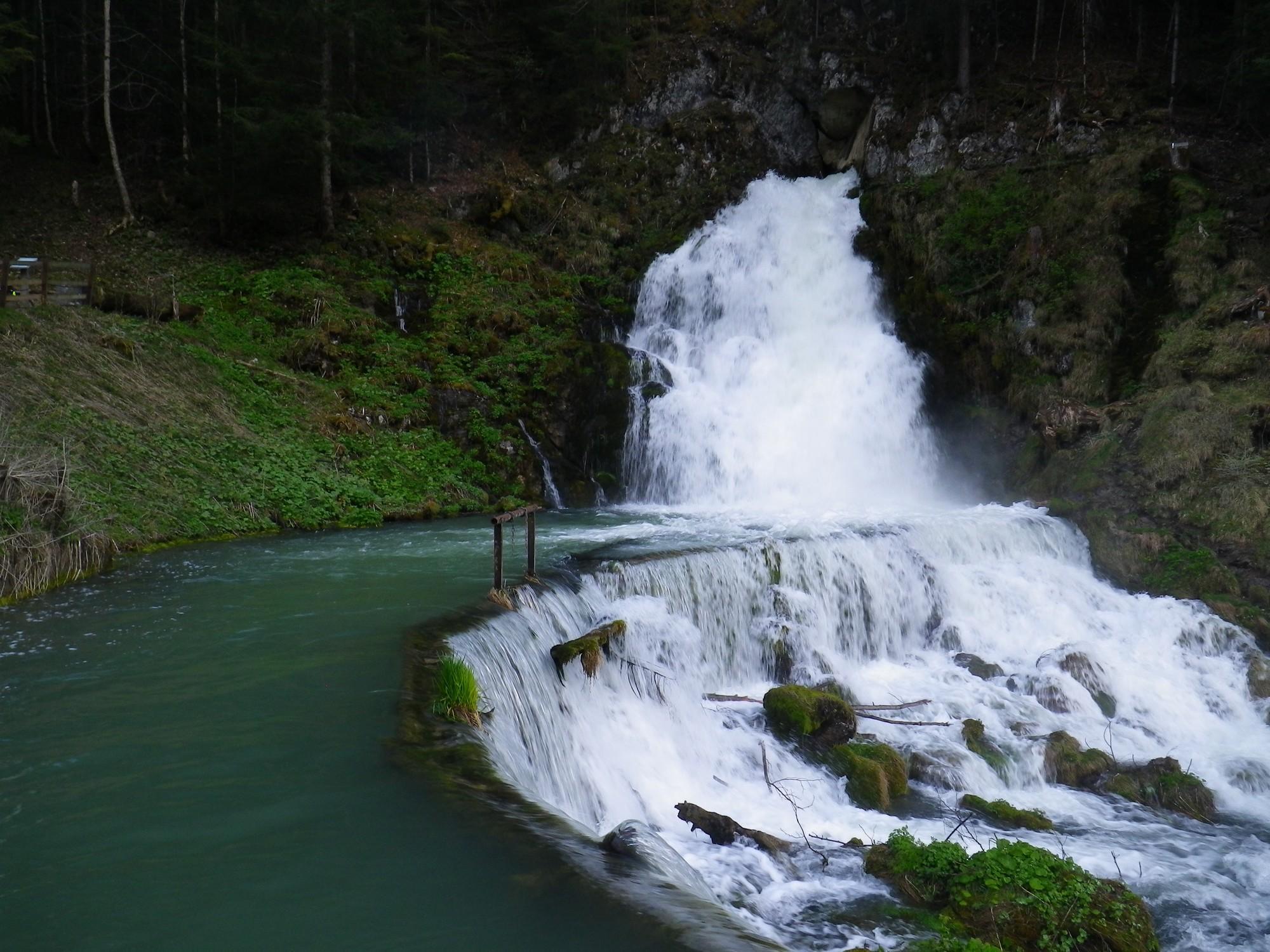 Der Wasserfall von Jaun – ein magischer Ort mit geheimnisvollem Ursprung